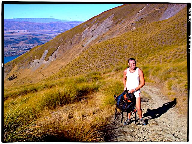Mountain Trail, Mount Roy, Wanaka, New Zealand