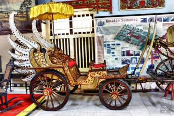 kereta kencana (the royal carriage)