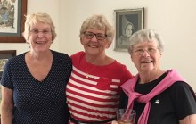 Gay, Maxine, and Rosemary