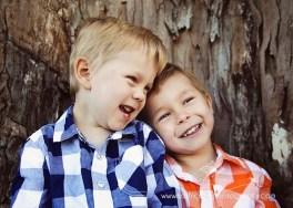 Grandsons Johnam and Blake