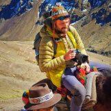Peru, Góry Tęczowe 5000m n.p.m.