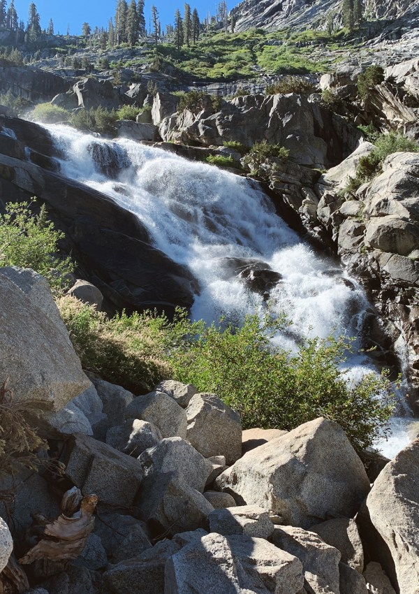 Tokopah Falls in the Summer