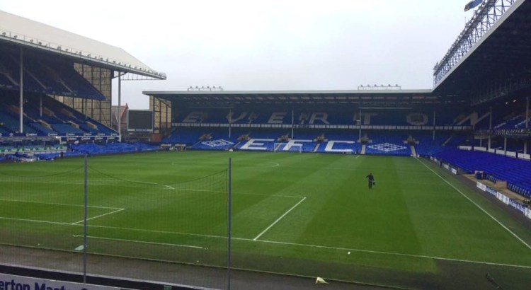 Picture of Everton's football stadium