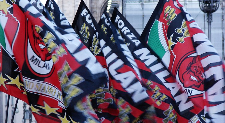Picture of AC Milan flags