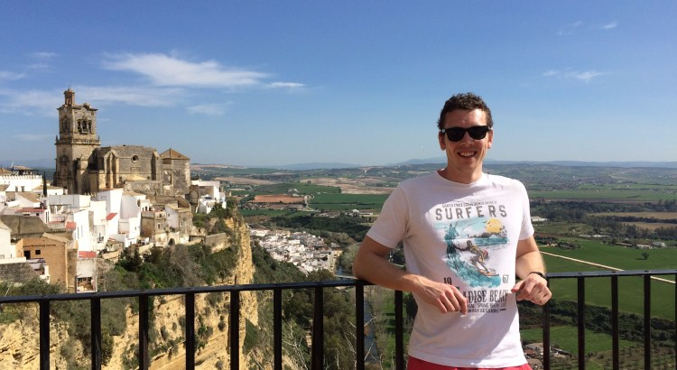Picture of Chris Atkin in Spain