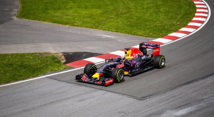 Picture of Red Bull F1 car
