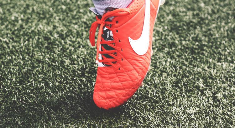 Picture of a football boot