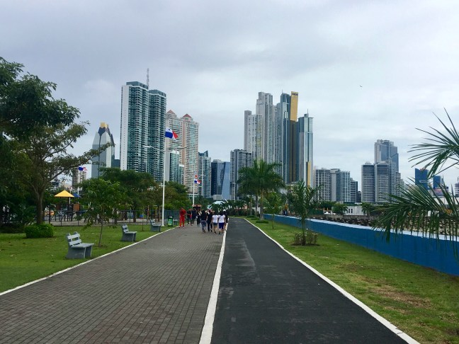 Picture of Panama City skyline from the Cinta Costera