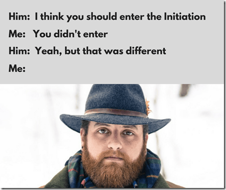 The Initiation meme 8, memes, man
