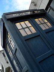 The Tardis, by recurrence, via a Creative Commons Attribution-Non-Commercial-Share Alike license