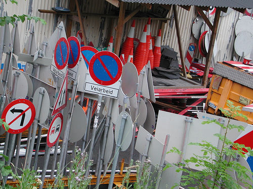 Sign Yard 04 by mrjorgen, via a Creative Commons Attribution-Non-Commercial-Share Alike License