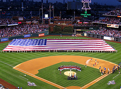 Phillies Opening Night on flickr.com by furnstein, via a Creative Commons Attribution License
