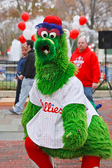 Phillies World Series Pep Rally: Franklin Square by Vincent J. Brown on flickr.com, via a Creative Commons Attribution-NonCommercial-No Derivatives license.