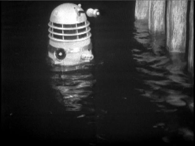 Who knew Daleks could swim?
