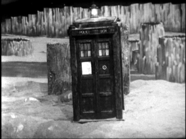 TARDIS on Vortis