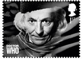 Image of First Doctor Stamp via Royal Mail