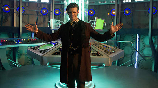 Image of new TARDIS control room via BBC