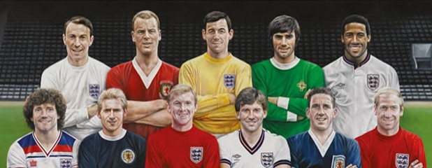 Football Heroes via the Royal Mail