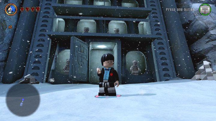 The Second Doctor on Telos in LEGO Dimensions