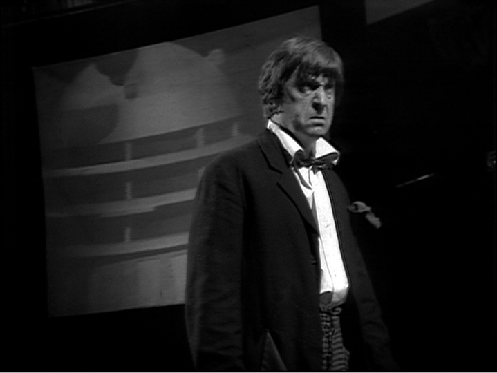 An indignant Second Doctor