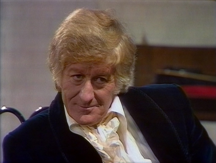 The Third Doctor in his prime.