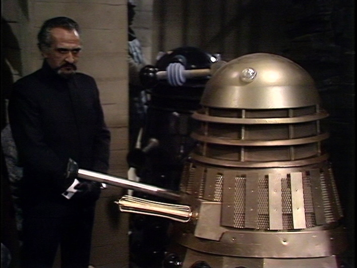 Master and Dalek, together at last