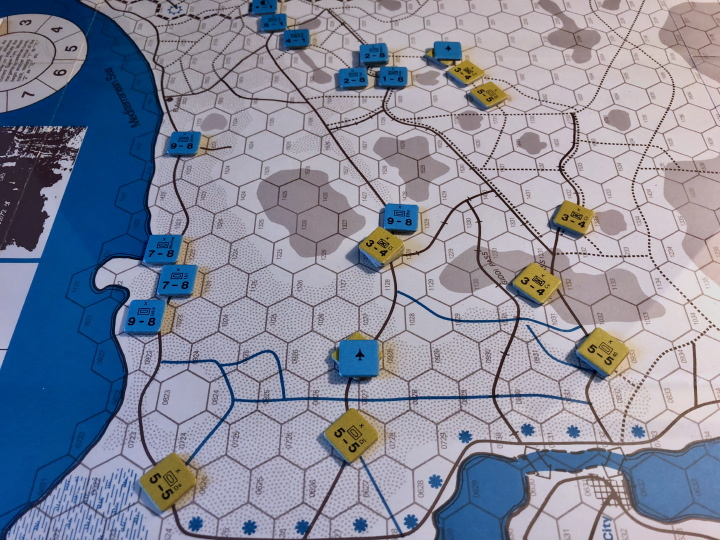 Race for the Suez Canal, Turn 2, 1967 scenario, Sinai (SPI)
