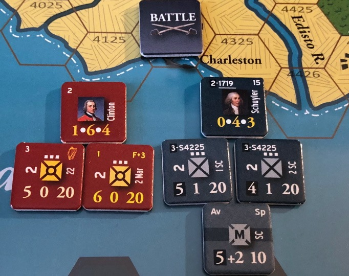 The Battle of Charleston in End of Empire