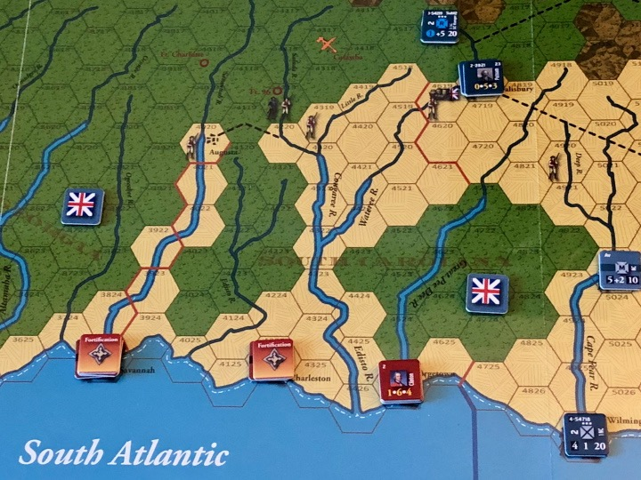Southern Front after Turn 6