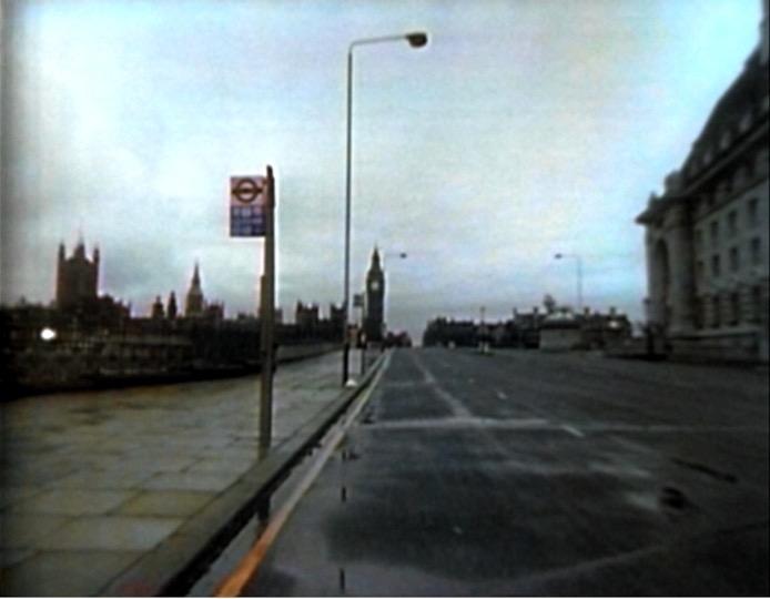 An empty city