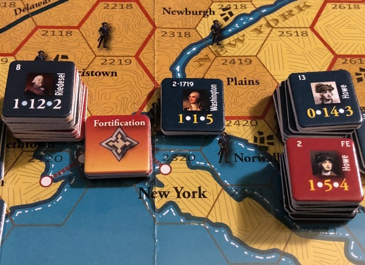 End of Empire, Turn 13, Washington approaches New York City