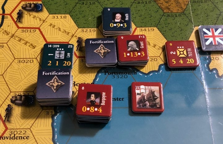 End of Empire, Turn 14, The Battle of Portsmouth