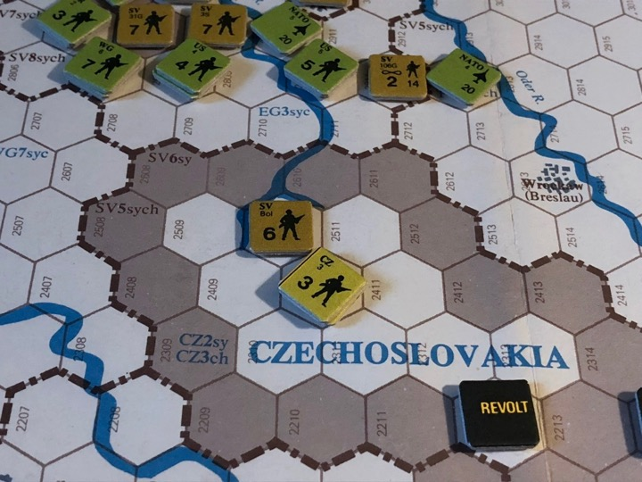 Revolt in the East, Turn 5, Czechoslovakian gambit