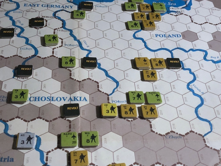 Revolt in the East, Turn 11, NATO forces rush towards Poland