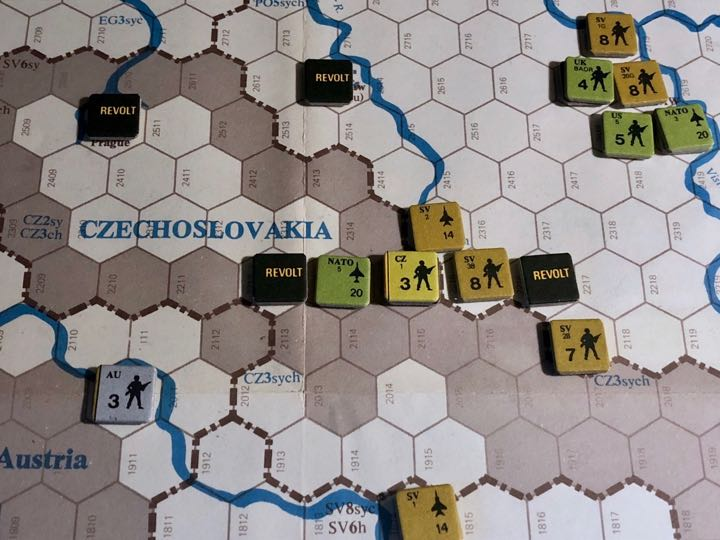Revolt in the East, Turn 9, Soviet Counterattack in Czechoslovakia
