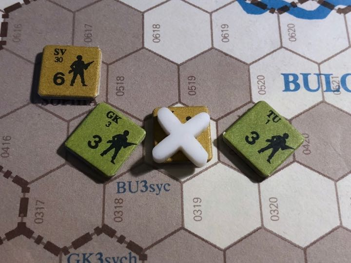 Revolt in the East, Turn 10, Greco-Turkish Attack on Plovdiv