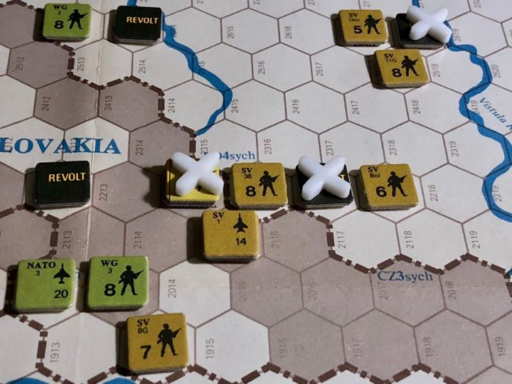 Revolt in the East, Turn 11, Bitter fighting on the Czech/Polish border