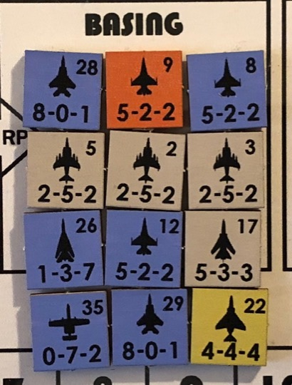 NATO Air Commander, Air Unit Counter Examples