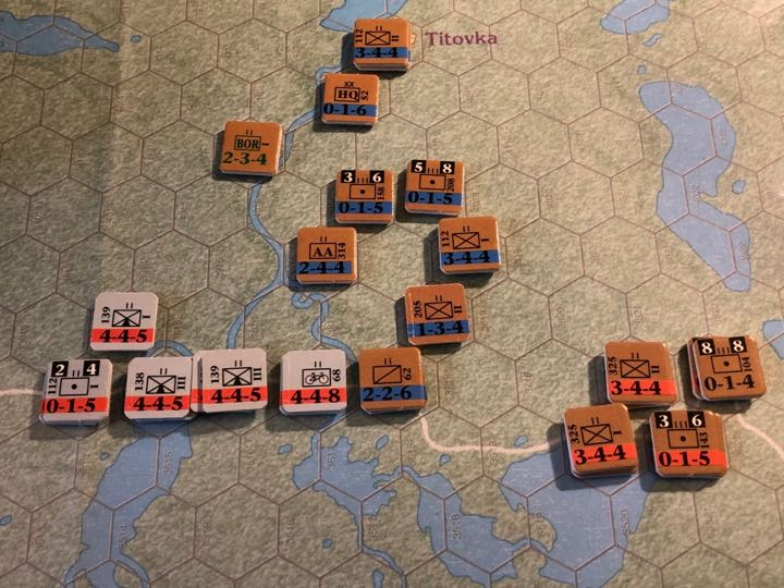 Murmansk 1941, Turn 11, 14th Rifle and 52nd Rifle Prepare Defenses