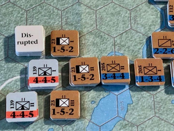Murmansk 1941, Turn 3, 3rd Mountain, meet 52nd Rifle