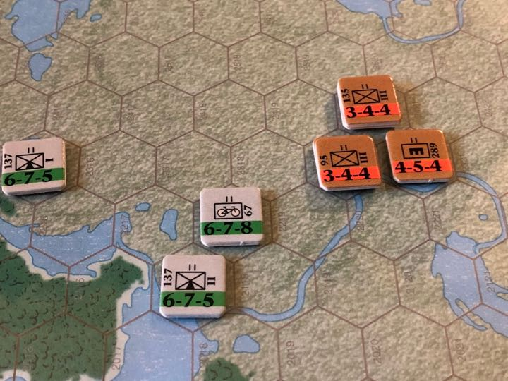 Murmansk 1941, 2nd Mountain Bicycle Infantry Advances