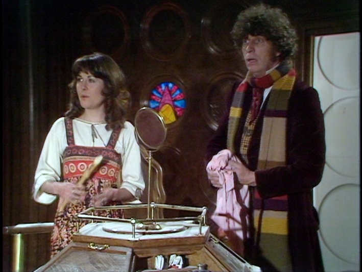 The secondary TARDIS control room