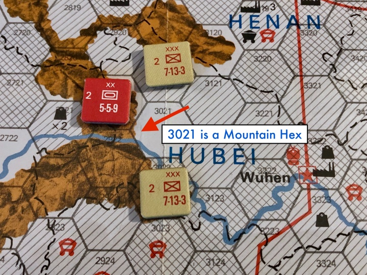 The China War, Mountain Hex Example