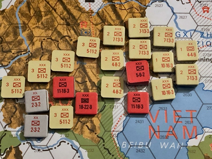 The China War, Objective Hanoi!, Situation End of Turn 5