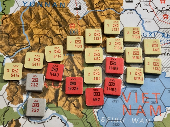 The China War, Objective Hanoi!, Situation End of Turn 6