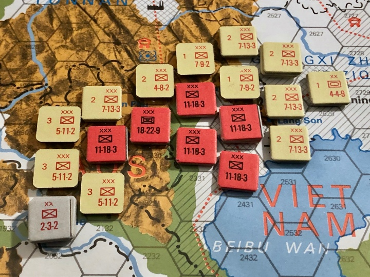 The China War, Objective Hanoi!, Situation End of Turn 9