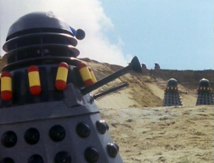 Daleks on parade