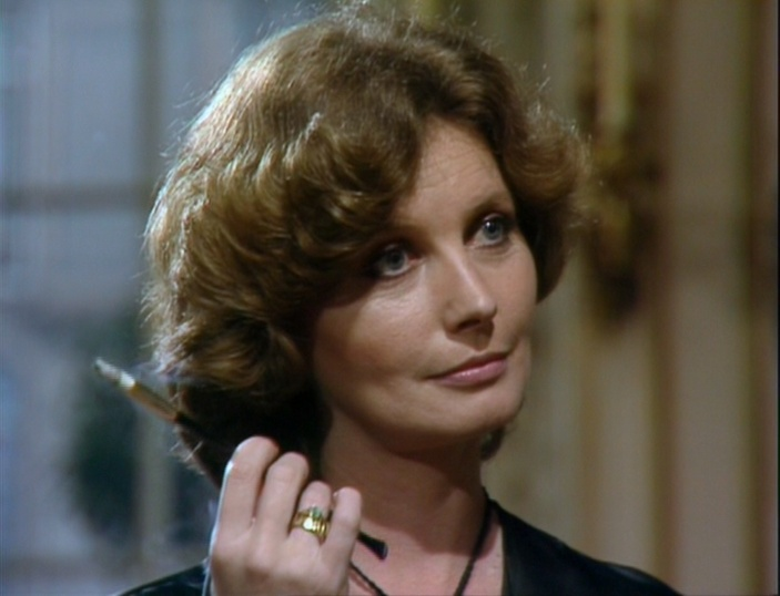 Catherine Schell as the Countess Scarlioni