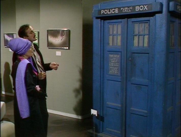 The TARDIS as art