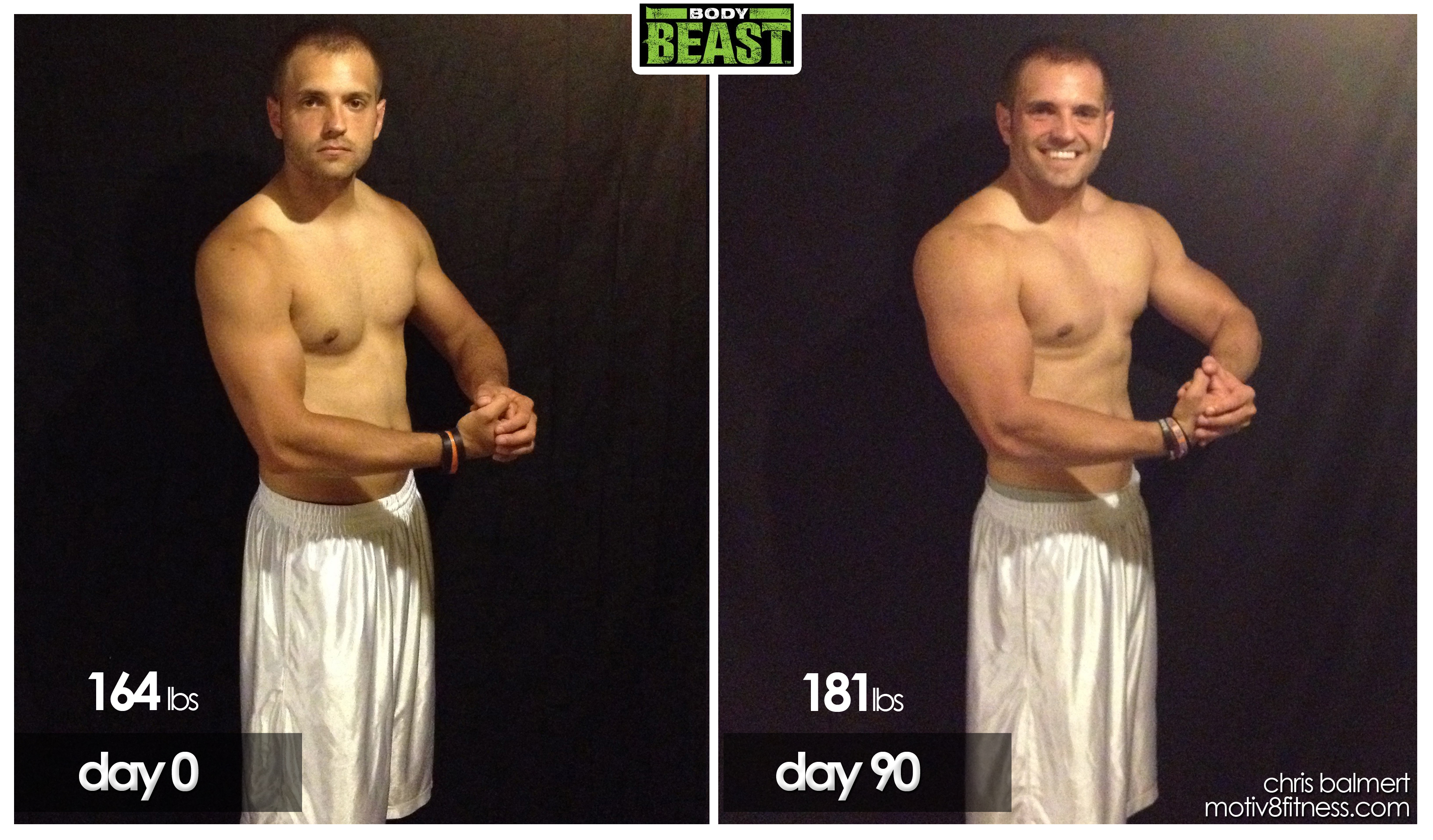 My Body Beast 90 Day Results